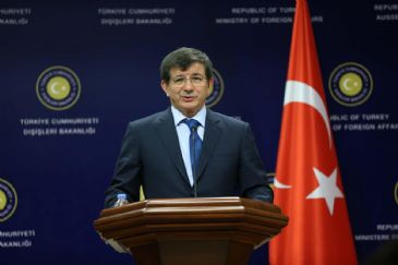 Davutoglu and Baird share concerns over recent developments in Ukraine
