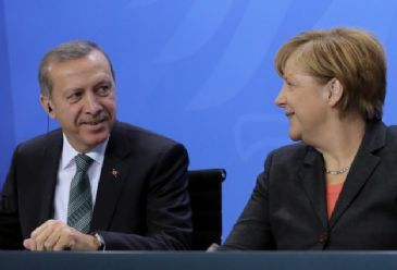 Erdogan and Merkel have agreed that military conflict in Crimea must be avoided and Turkey has offered its assistance to the International Contact Group.