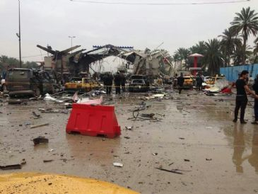 The explosion is the strongest in Iraq this year
