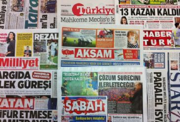 Most Turkish dailies on Tuesday dedicated their front pages to the releases of detainees connected with Ergenekon case – an alleged coup plot – plus a Turkish Super League football match between Trabzonspor and Fenerbahce which was abandonded after fans threw flares and objects on to the pitch befor