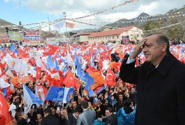 Addressing a rally in Nursi`s hometown of Bitlis, Erdogan criticized U.S. based preacher Fethullah Gulen who is claimed to draw his inspiration from Nursi