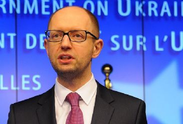 Ukraine's Prime Minister Arseniy Yatsenyuk will meet U.S. President Barack Obama in Washington D.C. on Wednesday, as the country awaits the first tranche of a billion-dollar aid package from the International Monetary Fund in April.