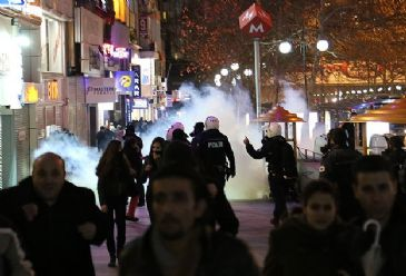 Protesters gathered after death of boy injured during 2013 Gezi Park protests