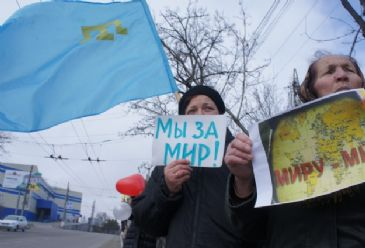 Crimean Tatars refuse to participate in the referundum, which could have the Crimea region join Russia