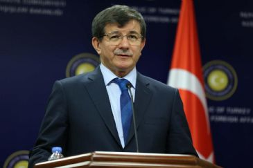 Ahmet Davutoglu said solving the political conflicts in Ukraine has to be a priority