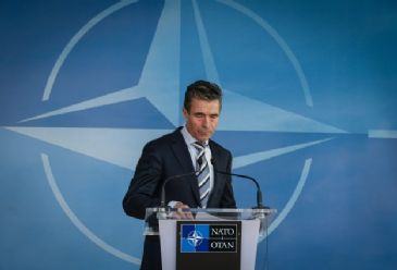 NATO's Secretary General says the organization will do more to improve its military cooperation with Ukraine