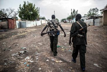 The army spokesman said government troops had repulsed a rebel attack near Malakal Sunday