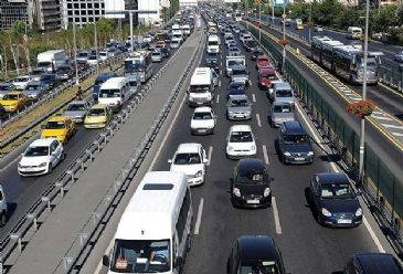 Turkish Statistical Institute says the number of vehicles registered in Turkey reached over 18 million in January 2014