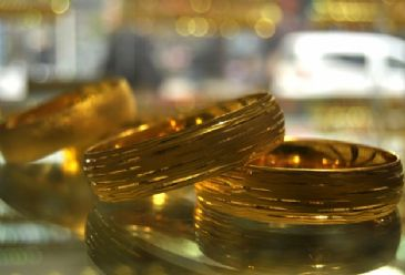 Gold prices had started the day at $1,366 per ounce but came down to $1,350 after Putin´s speech.