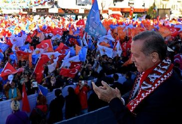 Erdogan implies that Gulen controls a network within the state which spies on people's privacy.