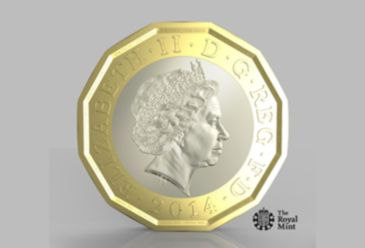 A new coin, which is called the 'most secure coin in the world' by the Royal Mint, is to be introduced in the UK in 2017 to protect its currency from counterfeiting.
