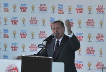 Erdogan says a ruling party increasing the GDP of Turkey by nearly US$600bn cannot be called corrupt