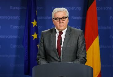 Germany's Foreign Minister Frank-Walter Steinmeier said that around 400 observers from the Organization for Security and Cooperation in Europe