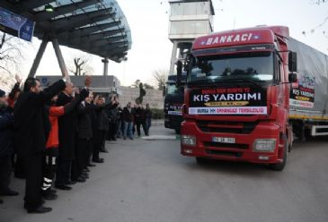 In the past couple of days aid trucks have been crossing the Turkish border into Syria bringing urgently needed supplies