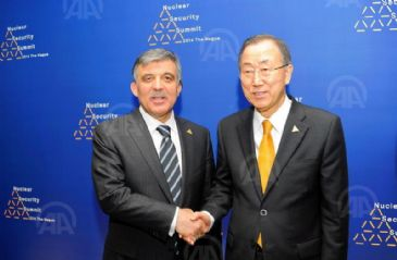 President Gul meets U.N. Secretary-General and world leaders at Nuclear Security Summit