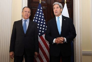 Secretary Kerry pointed to the sanctions if Russia continues to take escalatory steps