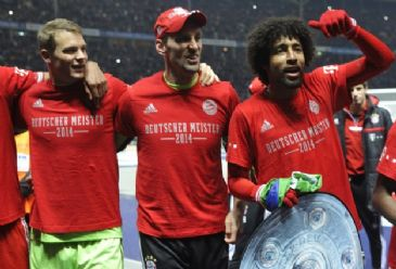 Bayern Munich win Bundesliga title for the 24th time despite having seven more games to play