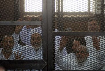 The Egyptian authorities have launched a massive crackdown on the Brotherhood since the Islamist leader's ouster by the military last July.