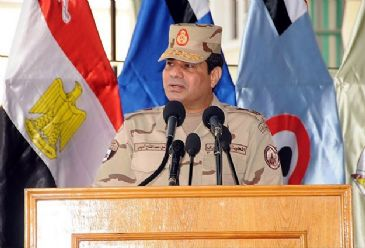 Egyptian Defense Minister Abdel-Fattah al-Sisi resigned on Wednesday and announced his intention to run for Egypt's presidency.