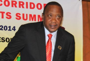 Kenyan President Uhuru Kenyatta on Friday called on the Somali community to fight terrorism, insisting his country did not discriminate against any religion.
