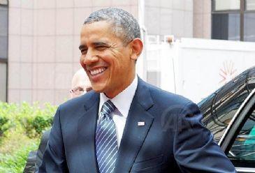 U.S. President Barack Obama arrived in Riyadh on Friday for talks with Saudi King Abdullah bin Abdelaziz.