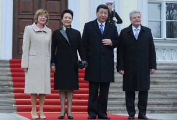 China and Germany further their trade ties and cooperation as they sign 18 new agreements