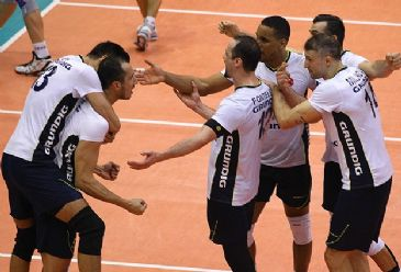 Turkey's famous multi-sports club edges Italy's Andreoli Latina to grab its first European trophy in men's volleyball