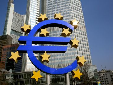 Inflation in EU's common currency area is estimated to fall to 0.5 percent for March from 0.7 percent in February.