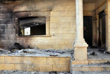 Two churches were set ablaze by angry Muslim youths in Nigeria's northwestern state of Katsina