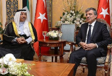 Turkey and Kuwait have signed agreements on military training, press and information, commercial sea transport and archival storage