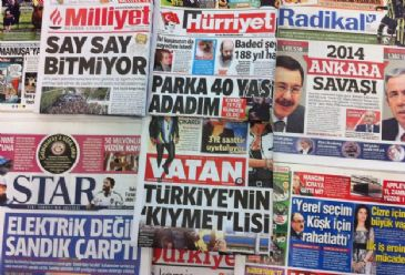 As expected, Turkey's Sunday local elections dominate the frontpages of Turkish dailies on Wednesday