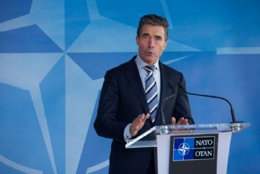 NATO Chief says it would be a 'historic mistake' for Russia to further intervene in Ukraine