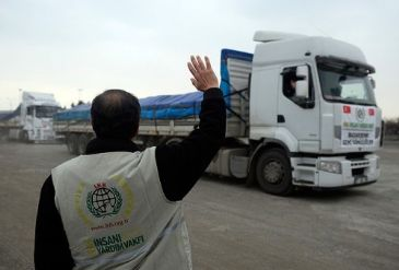 IHH Humanitarian Relief Foundation has been sending aid to Syria throughout ongoing crisis