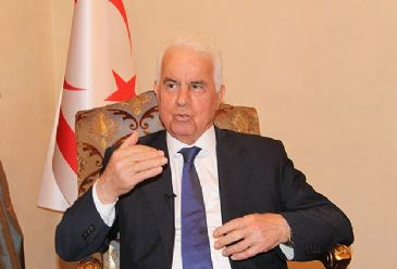 President Dervis Eroglu says agreement should guarantee Turkish Cypriots' rights