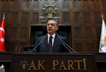 PM Erdogan, referring to his party's victory in local elections, says Turkish nation has given him the authority to fight against 'parallel state' - reference to Gulen Movement