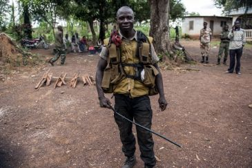The seleka were besieged in the northern parts of the Central African Republic since France sent troops into the country in December to halt bloodshed