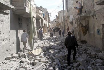 Operations by Assad's forces leave at least 89 dead including 7 women in Syria.