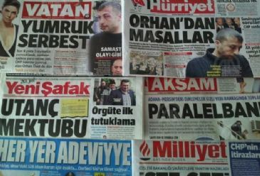 Turkish dailies on Friday dedicated their front pages mostly to news on Turkish Parliament Constitution Commission's Head, Burhan Kuzu's court application to re-block Twitter, the tragic death of famous Turkish photographer Kerim Okten and the attack on the Turkish embassy building - which is under