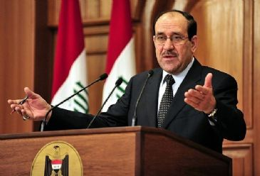 Nouri al-Maliki's ruling parliamentary bloc this week mandated him to 'use all means necessary to fight terrorism' in Iraq's western Anbar province, a bloc member said Friday.