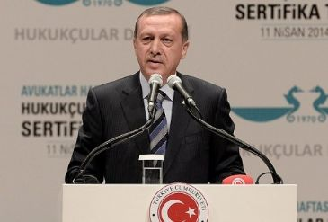 Erdogan criticizes Egypt's judiciary for having
