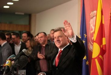 According to unofficial results, the current President Gjorge Ivanov is in the lead