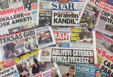 Turkish dailies on Wednesday mainly cover a gun attack which wounded former MP, Adnan Yildiz killing his wife and daughter in Istanbul, latest developments in Ukraine, and