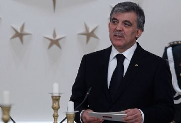 Turkey's President Abdullah Gul commented on the upcoming presidential elections in Turkey during a joint press conference with Latvia's president.