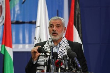 Speaking at an inauguration ceremony for a handful of Qatar-funded projects, Haniyeh called on Egypt to fully reopen the Rafah border crossing