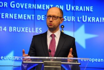 PM Yatsenyuk announces a draft bill prepared to grant amnesty to any protesters who give up their weapons