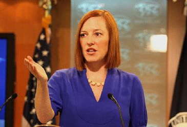 """""""We're examining allegations that the government was responsible,"""" Psaki said while speaking to reporters Monday."""