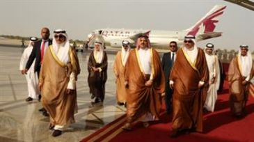 Qatari Foreign Minister Khalidal-Atiyah arrived in Kuwait Tuesday to lead his country's delegation to a joint cooperation committee meeting.