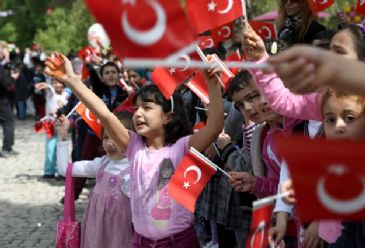 April 23 is a day dedicated to children by the founder of the Turkish Republic, Mustafa Kemal Ataturk