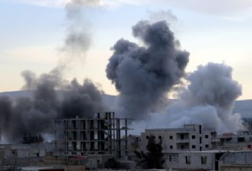 Operations comitted by regime forces kill at least 74 in Syria, including 13 children and 3 women
