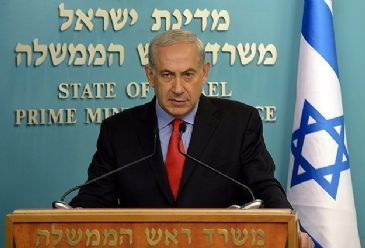 Netanyahu said that Palestinian President Mahmoud Abbas has to choose between making peace with Israel and making peace with Hamas